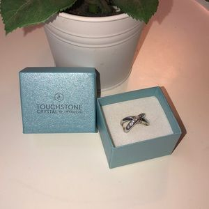 Touchstone Crystal Starcrossed Ring